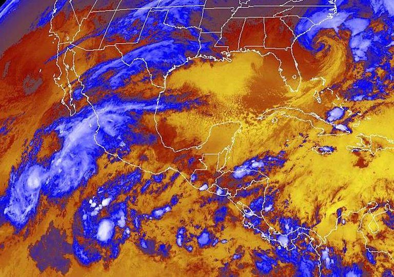 tormenta tropical Raymond y depresión tropical Veintiuno E