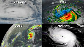Ciclones tropicales que se intensifican muy rápidamente
