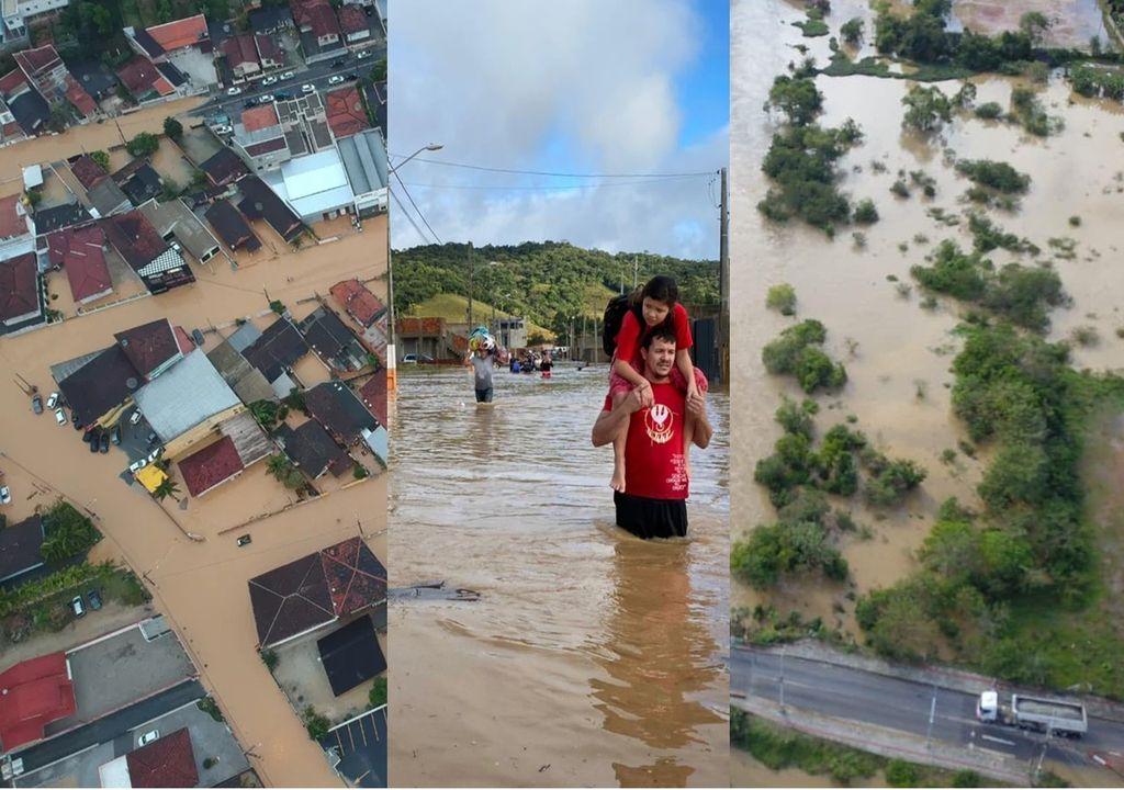 chuva Santa Catarina