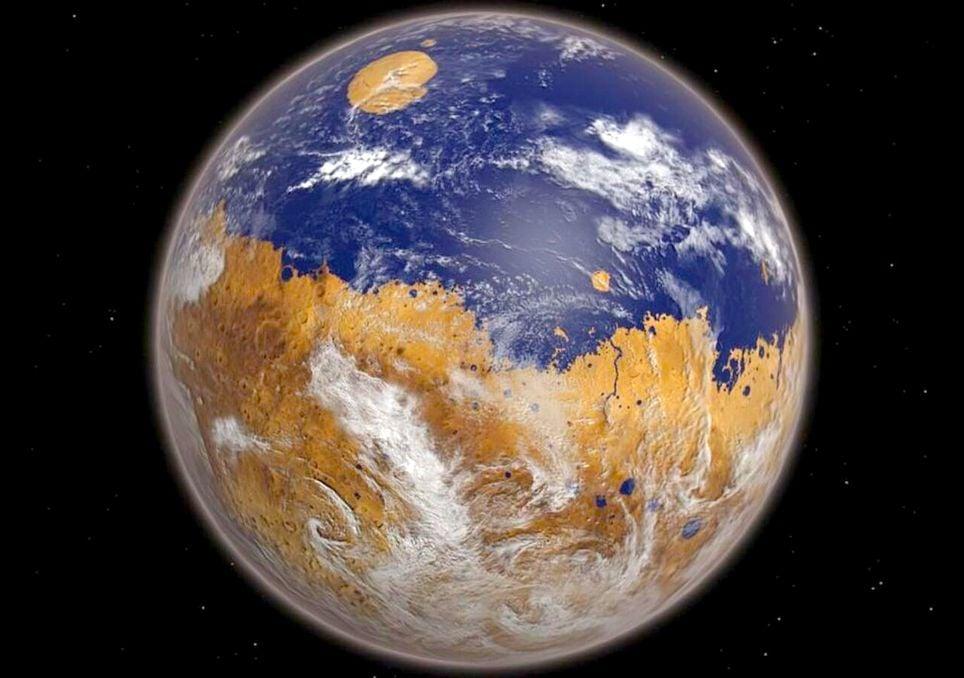 Unglaublich: Der Mars war einst so schön wie unsere Erde!