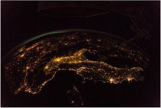Ciudades en la noche
