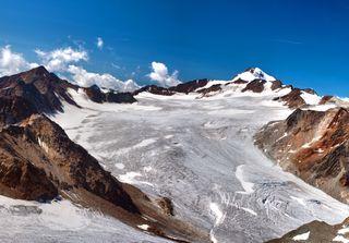 Clima, ghiacciai alpini in forte sofferenza