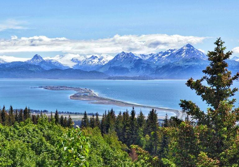 Alaska y sus montañas