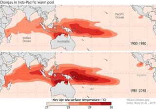 Climate: A large ocean warm pool has doubled in size