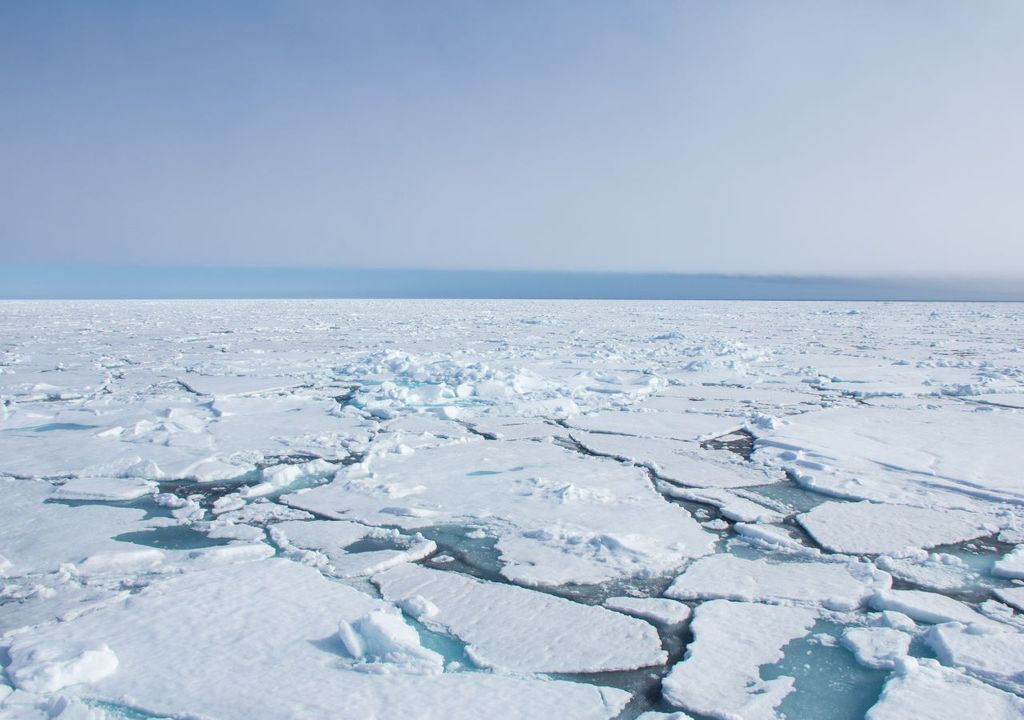 Arctic sea ice: below average in every year between 2016 and 2020