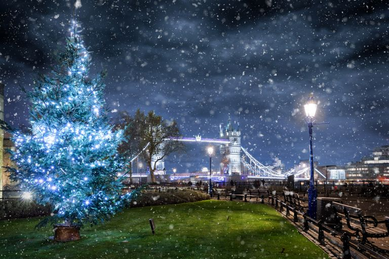White Christmasses in London could be no more by 2050