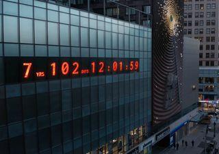 Climate Clock en Nueva York: la fecha límite de la Tierra