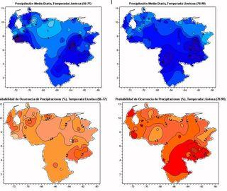 Climatología sinóptica asociada a los eventos extremos de la estación lluviosa venezolana en los períodos1956-1977 y 1978-1999