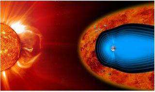 Cluster mide la turbulencia en el entorno magnético de la Tierra