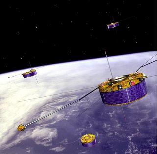 Cluster y la meteorología espacial