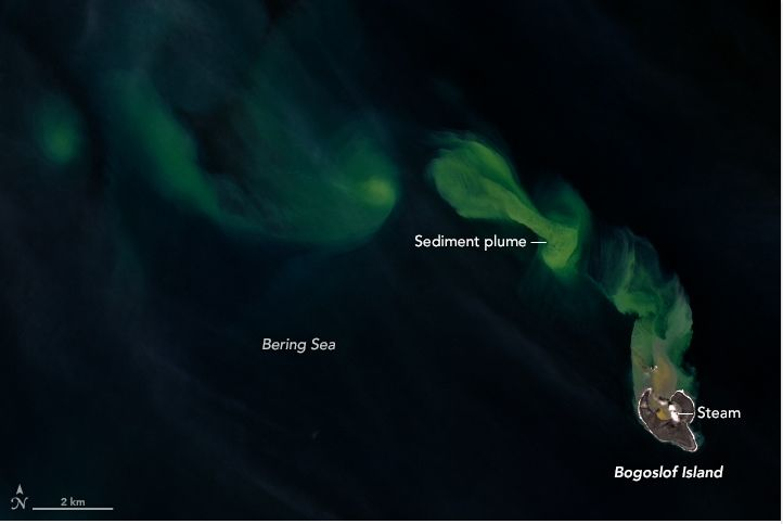 Colorida Imagen En El Mar De Bering
