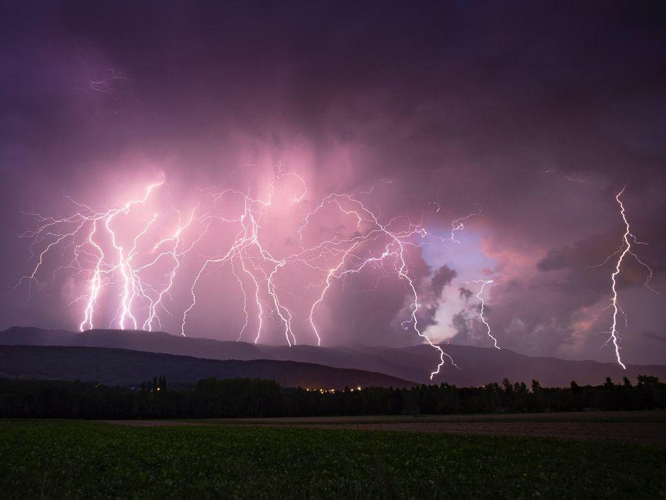 rayos, truenos, relámpagos, tormentas,