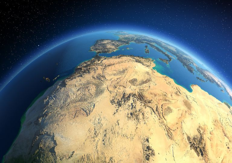Desierto del Sahara Africa