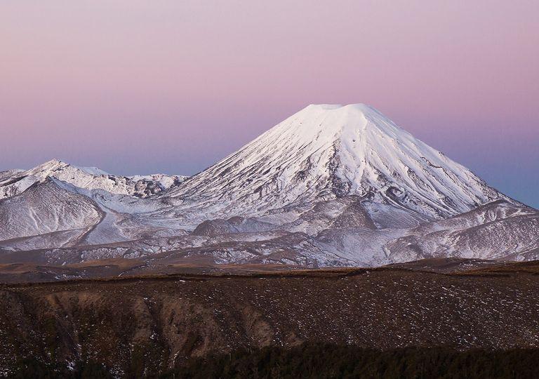 Ruapehu vulcano