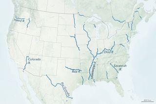 Cómo los ríos dan forma a los estados