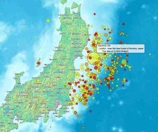 Cómo los terremotos deforman la gravedad