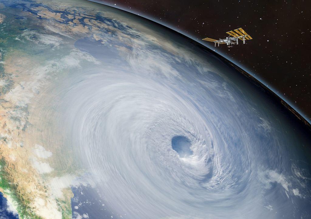 Aerossóis enfraquecem os furacões