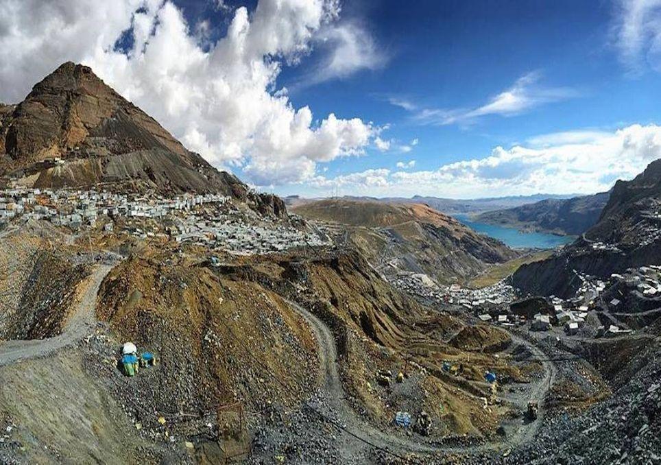 Rinconada, Andes Peruanos y contaminación