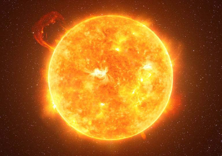 Sol; ciclo solar
