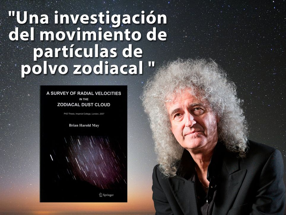 Brian May Zodical Dust Cloud
