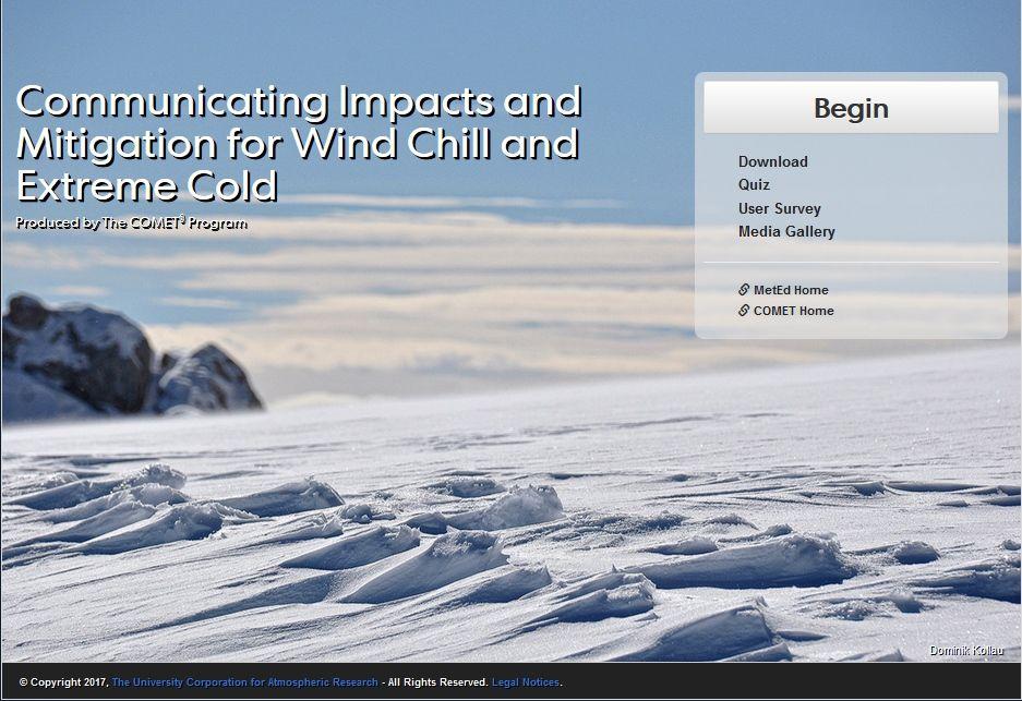 Comunicando Los Impactos Y Mitigación Del Frío Extremo Y Sensación Térmica Fría