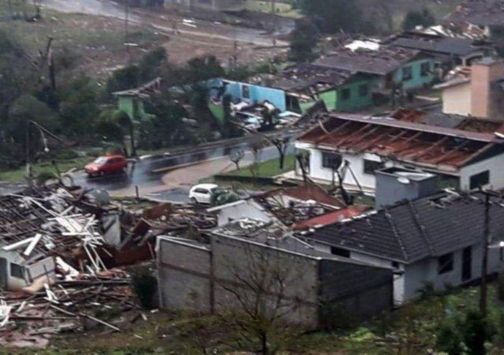 Tornado em Santa Catarina