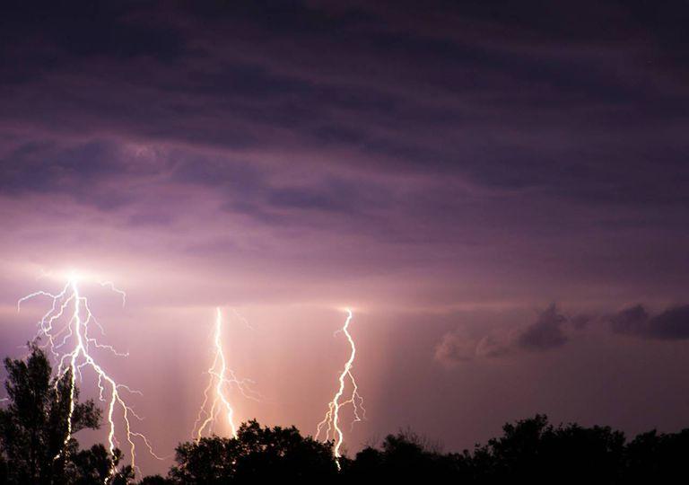 Tempestade trovoada