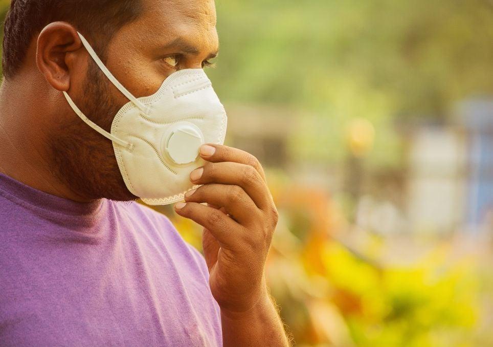 La contaminación en la India