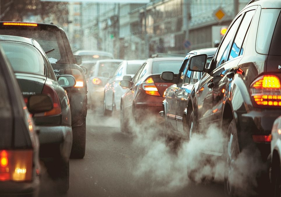 Polución del aire