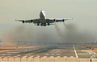 Contaminación e impacto de la aviación en el clima