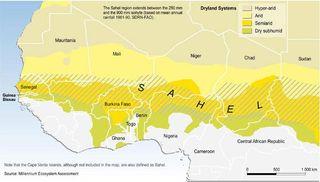 Contaminación en USA y lluvias en Sahel: relacionadas
