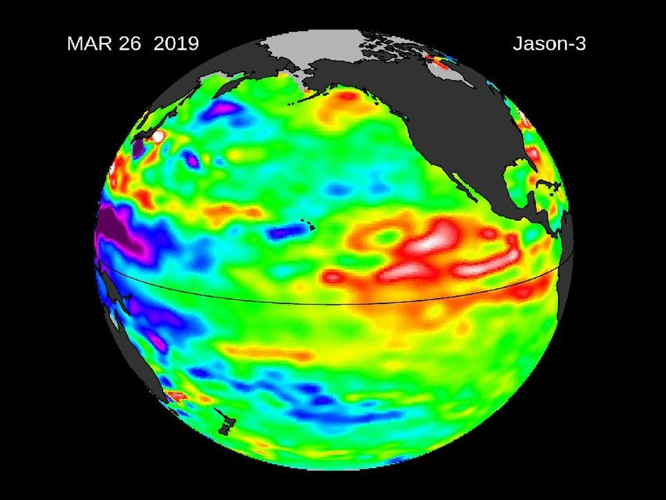 El Niño débil sobre el Pacífico Central