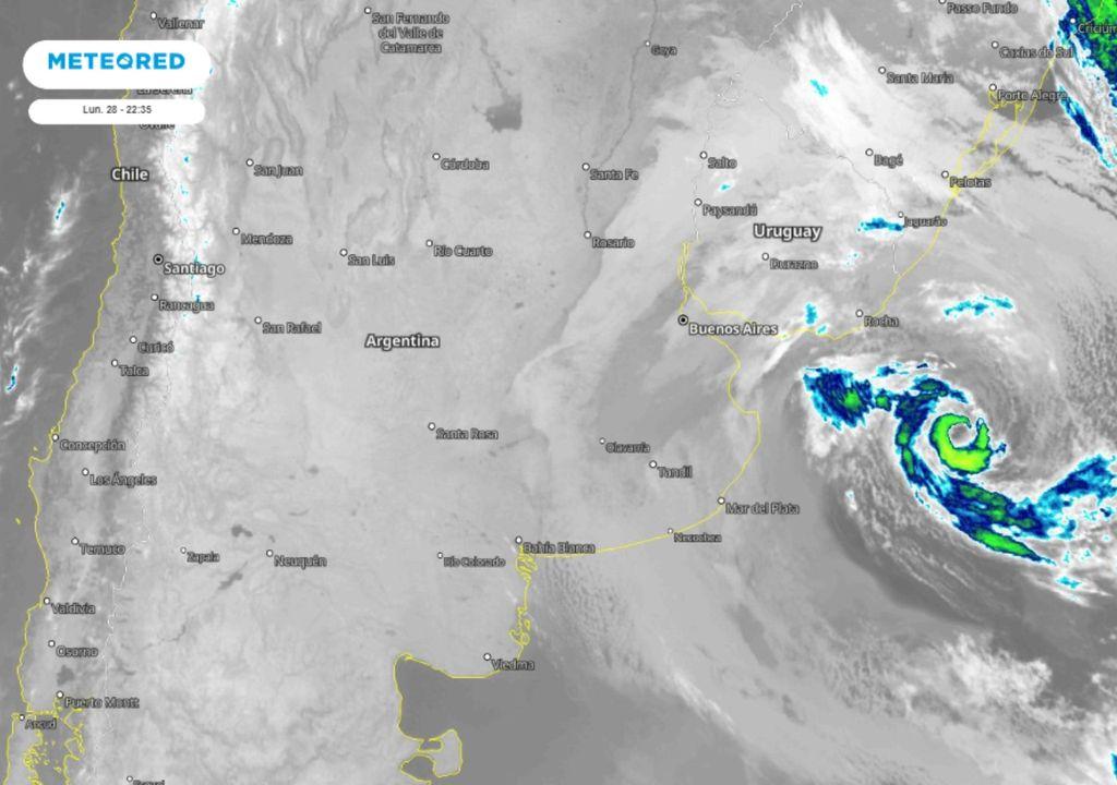 imagen satelital Meteored Argentina