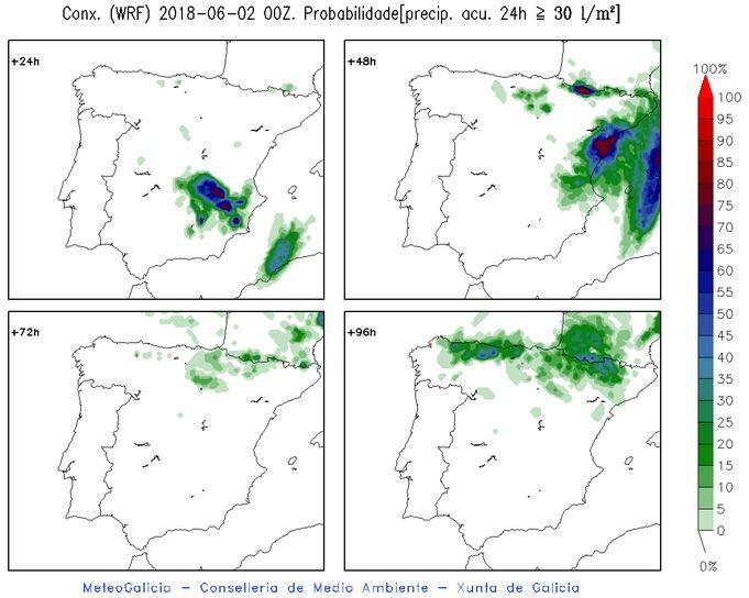 Convección Adversa En La Costa Mediterránea Para El 2-3 De Junio De 2018