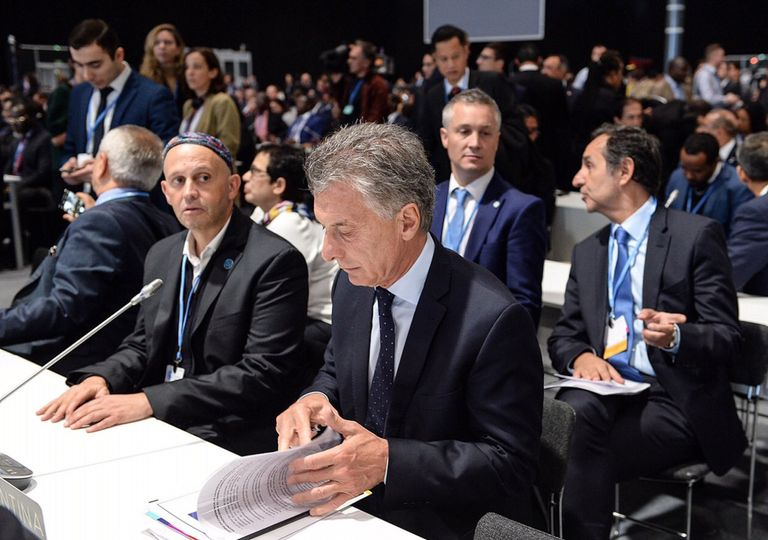 Macri COP25 Madrid cambio climático