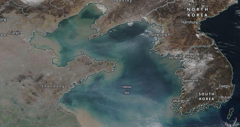"""Corea Del Sur En Lucha Aérea Contra La Contaminación """"china"""""""