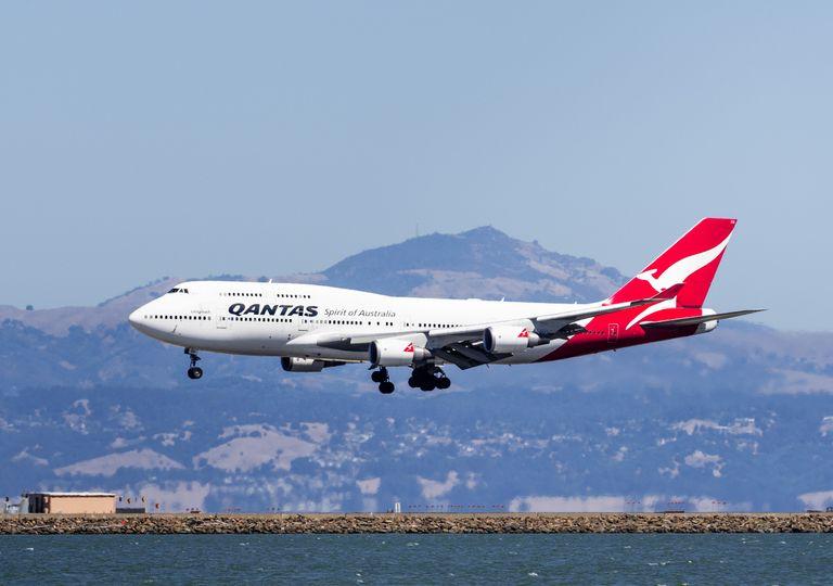 Qantas Australia voo coronavirus covid19