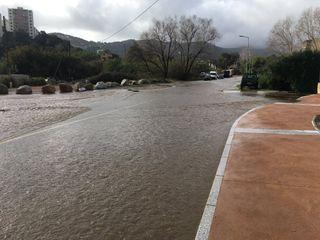 Corse : violent orage stationnaire, Ajaccio sous l'eau !