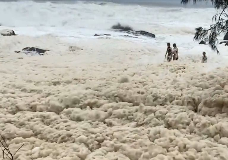 Espuma do mar