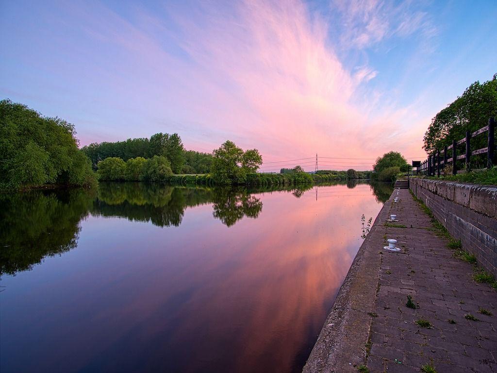 River Aire at Castleton.