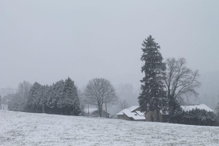 neige dans le sud-ouest