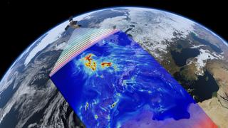 COVID-19: dióxido de nitrógeno sobre China