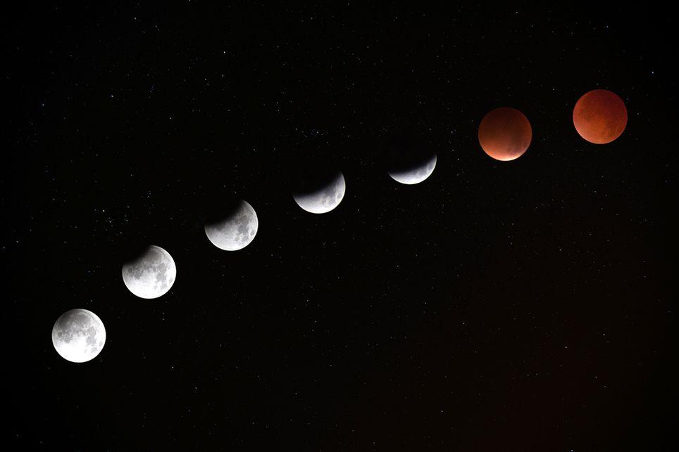 Eclipse Superluna