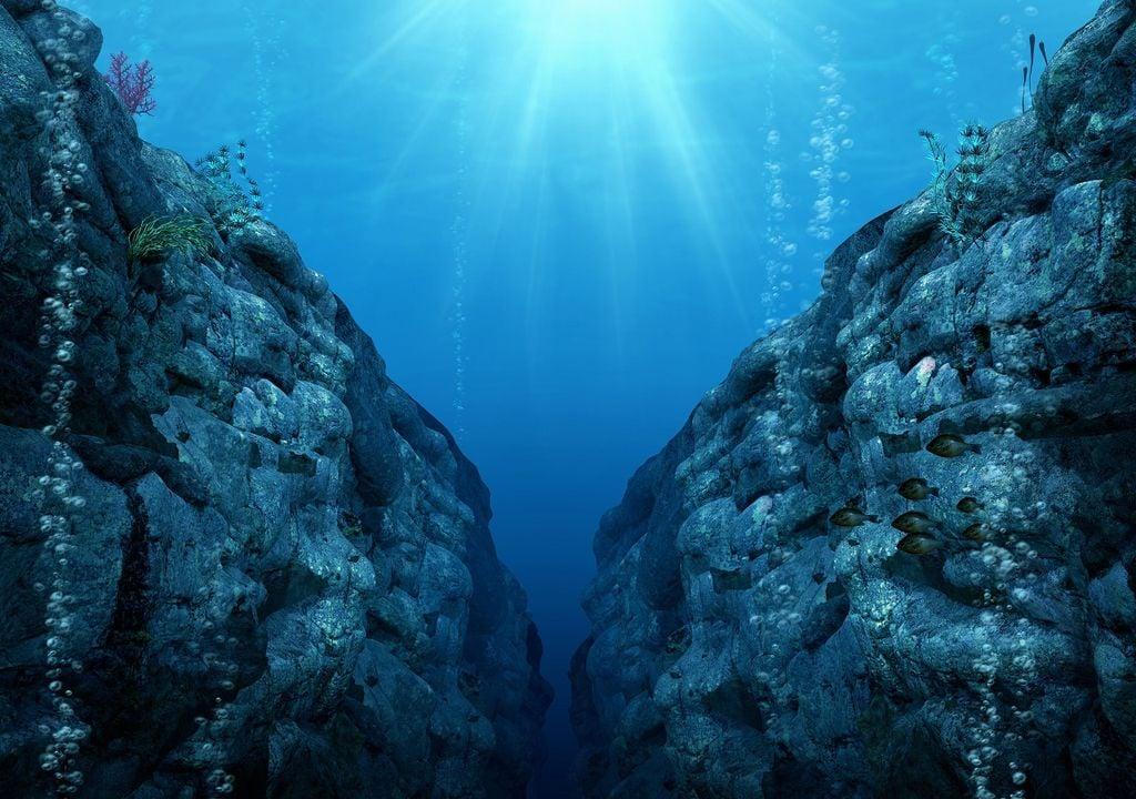 océano Pacífico - Fosa de las Marianas
