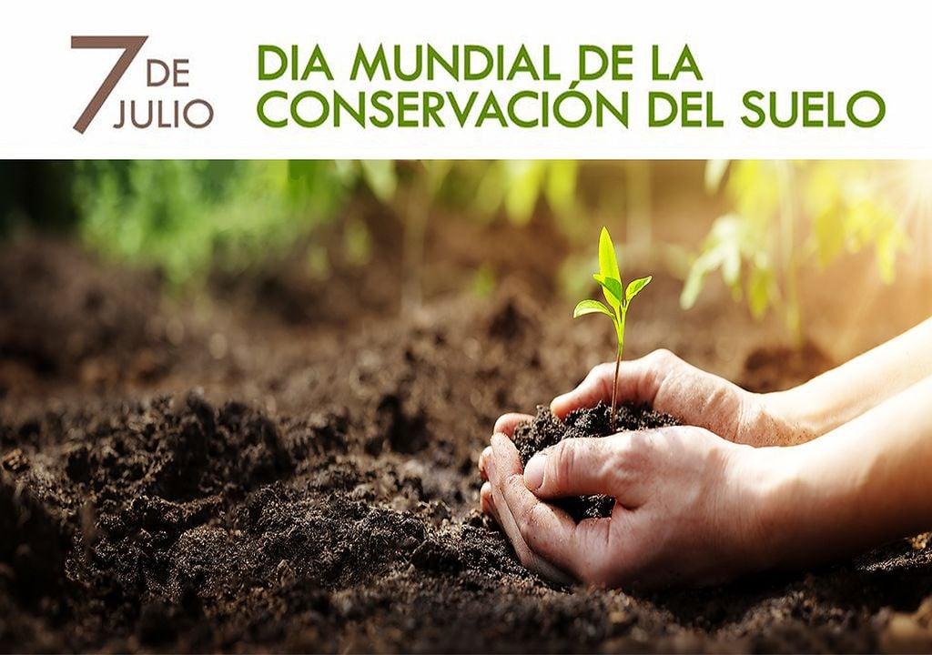El 7 de julio se celebra el Día Mundial de la Conservación del Suelo.