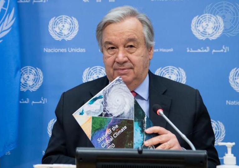 António Guterre, ONU