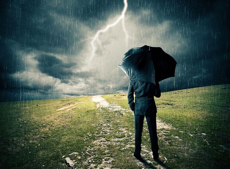 Hombre tormenta