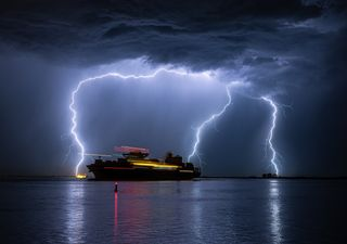 En las próximas horas el mar Balear será un nido de tormentas