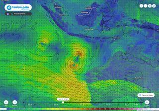 Dança de Tempestades prestes a ocorrer na Austrália