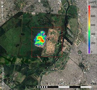 Datos de emisiones de metano de alta resolución